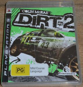 Colin McRae Dirt 2 (PS3, 2009) - PAL 4 - No Manual