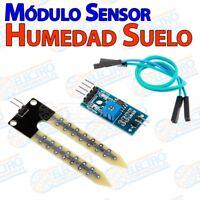 Modulo sensor humedad en suelo higrometro sonda riego - Arduino Electronica DIY