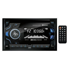 Soundstream Double 2 Din VM-22B MP3/SD Digital Media Player Bluetooth Front USB