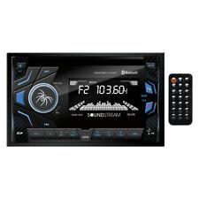 Soundstream Double 2 Din VM-22B MP3/SD Digital Media Player Bluetooth Front USB