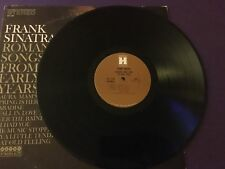 LP Frank Sinatra Romantic Songs From The Early Years   HARMONY / Columbia VG