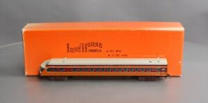 """Precision Scale Company BRASS HO Milw. Rd. Beavertail Observation """"Michell"""" Car"""