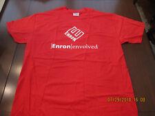 NEW-RARE--ENRON Envolved Shirt--Red--XXL