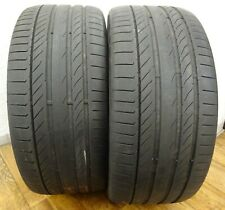 2 CONTINENTAL 265/40 R21 101Y 4 - 5 mm Sport Contact 5P Sommerreifen N0 DOT0316