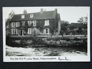 Berkshire ALDERMASTON The Old Mill Private Hotel c1950s RP Postcard