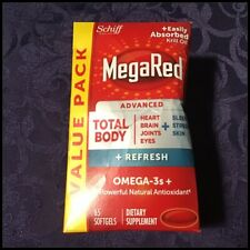 MegaRed OMEGA - 3 Misto totale corpo + aggiornamento 500mg 65 Softgels