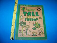 How Tall Are The Trees?  Coloring - Puzzles - Activities  2008