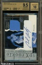 2003-04 SPX #153 Carmelo Anthony RC Rookie Jersey AUTO 474/750 BGS 9.5 GEM MINT