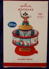 Hallmark Ornament: THE BAND CONCERT - Disney Mickey Mouse - Dated 2013 - Magic
