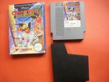 CHIP N DALE RESCUE RANGERS - Nintendo NES Game - PAL Version