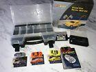 Radio Shack Zip Zaps RC Car Lot (4) Cars Accessories Case + Grand Prix Wall Kit