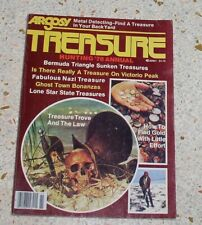 argosy treasure hunting annual 1978 buried lost hidden gold vintage
