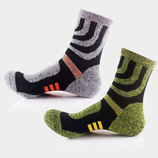 Fashion Mens Winter Thermal Long Ski Snow Walking Hiking Sports Towel Socks New