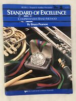 Standard Of Excellence Book 2 Timpani & Auxiliary Percussion W22TM Music Sheet