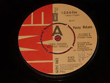 "Penny McLean – 1-2-3-4-Fire   orig 1975  EMI  Demo  7"""