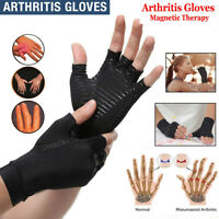 Compression Arthritis Gloves Hand Wrist Support Carpal Tunnel Pain Relief Brace