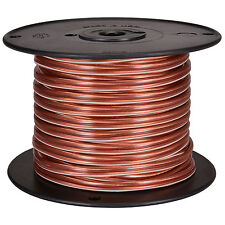 JSC Wire 100 ft. 12 AWG Speaker Wire Cable Clear USA