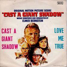 disco 45 GIRI Elmer BERNSTEIN CAST A GIANT SHADOW - LOVE ME TRUE