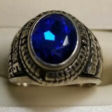2006 SMITHTOWN HIGH SCHOOL RING WITH DIAMONDS STERLING SILVER RING