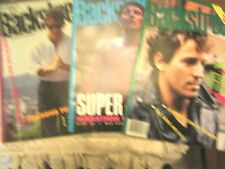 Backstreets Magazines Featuring Bruce Springsteen