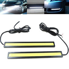 2x Super Bright Waterproof 12V COB White Car LED Lights for DRL Fog Driving Lamp
