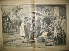 JOURNAL DES VOYAGES 500 INDE RAJAH FAKIR ABSTINENCE SOUDAN KHARTOUM MADHI 1887