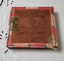Vintage Tabacalera Cigar Box Republic of Phillipines Stamp Seal