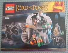 New LEGO INSTRUCTION MANUAL ONLY from set 9472 Attack on Weathertop