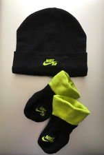 Nike SB Crib Bootie and Hat Set Baby Black and Green