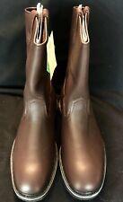 Fin & Feather Men's10.5 E  Boots NIB , Eva-tech Soles Brown