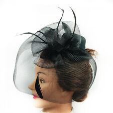 Fascinator - Flower Net Mesh Hat (STS01101)