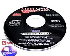 SOUL STAR SEGA MEGA CD DRIVE RARE PAL DEMO GAME SUIT COLLECTOR GENESIS NOMAD