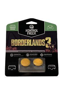 KontrolFreek Borderlands 3 Thumbsticks Xbox One Series X Claptrap Yellow New