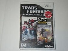 Transformers - Ultimate Battle Edition (Nintendo Wii, 2013)