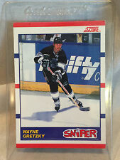 Collectible 1990 Score Hockey Card #336 Wayne Gretzky Los Angeles Kings
