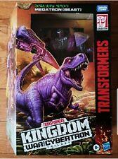Transformers War Cybertron Kingdom Leader Megatron Beast WFC-FREE SHIPPING
