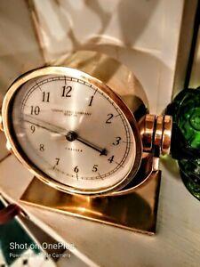Chelsea Boston &Thomas Long solid Brass Ships Clock