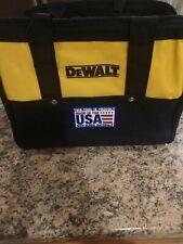 DeWALT DW3BAG 13 X 9 X 9 6-POCKET HEAVY-DUTY NYLON CANVAS CONTRACTOR TOOL BAG