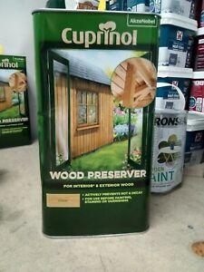 Cuprinol 5330418 Clear Wood Preserver - 5L
