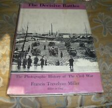 The Decisive Battles, by Francis Trevelyan Miller, HC/DJ, 1957, Civil War