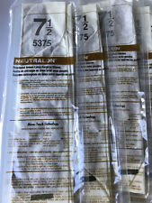 Ansell Neutralon Brown Latex Surgical Gloves Size 7.5 5375 Qty 10 Pairs