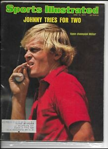 Sports Illustrated June 10 1974 Johnny Miller Open Champion VG+/NM