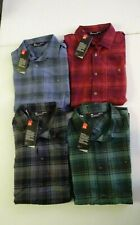 Under Armour Men's Tradesman Flannel Long Sleeve Button Up Shirt NWT 2019