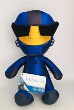 "Halo Xbox Playstation Game Soft Plush Toy 12"" Blue Yellow"