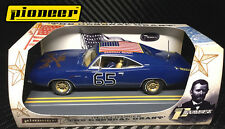 Pioneer Slot Car P096 General Grant Union Blue Gold Rims