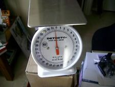 "Detecto Pt-2 Top Loading Fixed Dial Scale, 32 oz. Capacity, 5.75"" x 5.75"""
