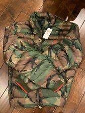 NWT$248 Polo Ralph Lauren Camouflage Puffer Down Coat Packable Camo Jacket SZ M