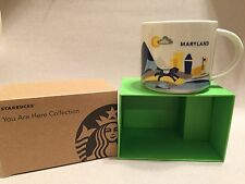 Starbucks You Are Here Collection MARYLAND Cup Mug New In Box Free Ship!