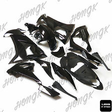 Black Blank ABS Fairings Set Body Work Kit for Kawasaki Ninja ZX10R 2008-2010