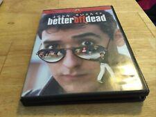 Better Off Dead Dvd In Very Good Conditions John Cusack Region 1